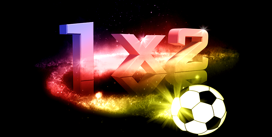 betting 1x2 football and color